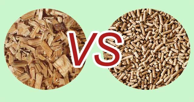 Tại sao nên sử dụng viên nén gỗ thay vì dăm gỗ?