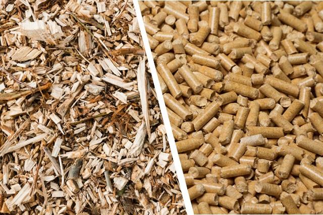 Viên nén gỗ làm từ dăm gỗ: Thông tin chi tiết